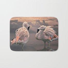 Flamingo Lovers Bath Mat