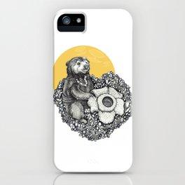Honey Sun Bear iPhone Case