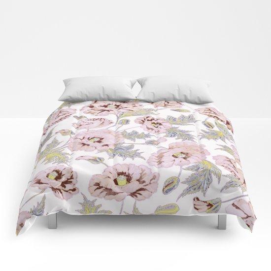 soft poppies Comforters