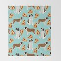 Saint Bernard pizza slices funny cute dog gifts for dog lover unique dog breeds by petfriendly