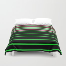 Bright Stripes II Duvet Cover