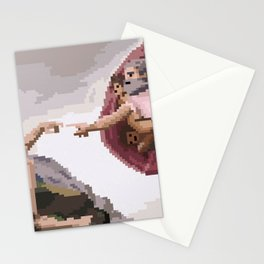Pixel Creation of Adam Stationery Cards
