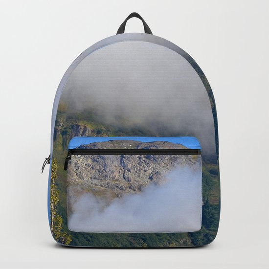 Autumn Mountain Fog - Alaska Backpack