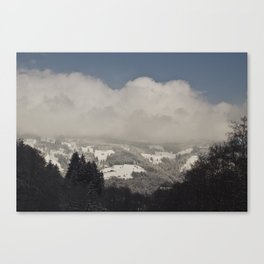 The middle of know where  Canvas Print