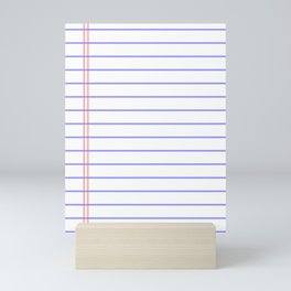 Notebook Mini Art Print
