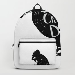 Chicken Dad Poultry Love Fathers Day Gifts Backpack