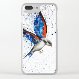 Sunset Sorrento Wings Clear iPhone Case