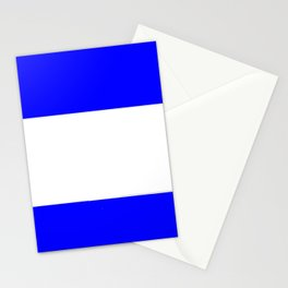 Flag of salvador 4 - salvador,Salvadoran,San Salvador,salvadoreño,Guanaco. Stationery Cards