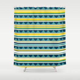 Colorful Pattern I Shower Curtain