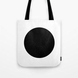 The Circle – Black Tote Bag