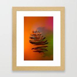 Tropical and Lush Framed Art Print