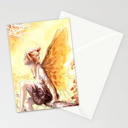 Autumn faery Stationery Cards