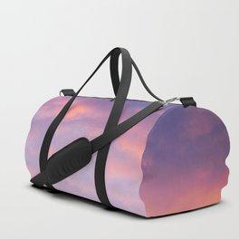 Sunset clouds Duffle Bag