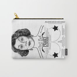 Peaky Blinders Polly - 'Fu@k Them All' Carry-All Pouch