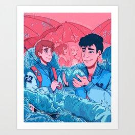 A King's Heart Art Print