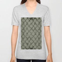 Braided Diamond Simply Green Tea Unisex V-Neck