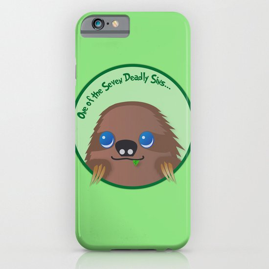 Adorable Sloth iPhone & iPod Case