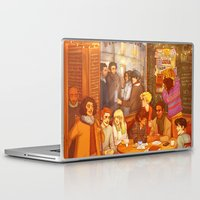 enjolras Laptop & iPad Skins featuring Les Misérables: A Group Which Almost Became Historic by batcii