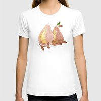 copper T-shirts featuring Copper Pears by Lisa Argyropoulos