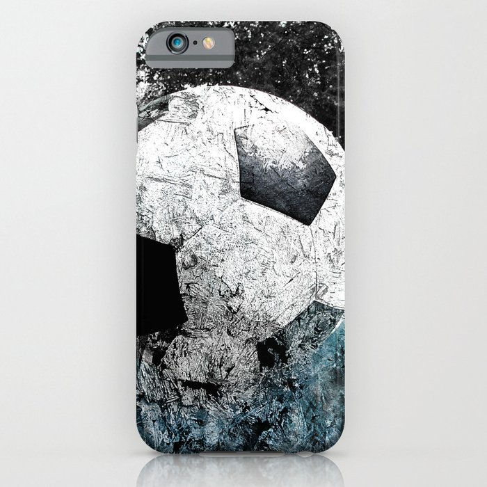 modern soccer version 1 iphone case