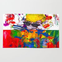 miley Area & Throw Rugs featuring Miley Montana by adorabriah
