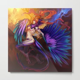 The Harpy Metal Print