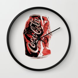 A can a day art print Wall Clock