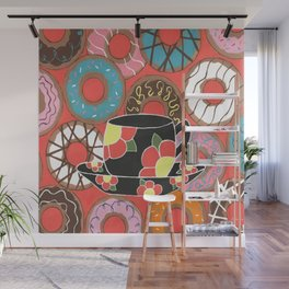 Delectable Donuts Wall Mural
