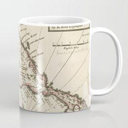 Vintage Map of Saint Kitts (1732) Coffee Mug