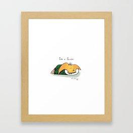 S U S H I IS ME Framed Art Print