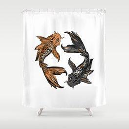 Koi Fish Shower Curtain