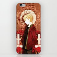 kieren walker iPhone & iPod Skins featuring kieren by suto