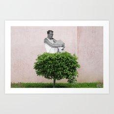 Emmanuel Bove @ Bécon-les-Bruyères Art Print