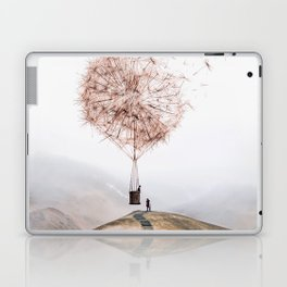 Flying Dandelion Laptop & iPad Skin