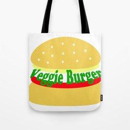 Veggie Burger - Vegan - Meatless Tote Bag
