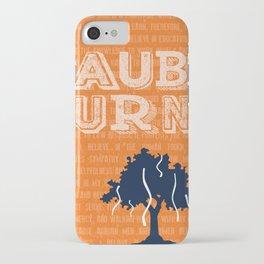 Auburn Creed iPhone Case