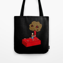 Construct and Destroy Tote Bag