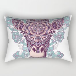 Giraffe (Color Version) Rectangular Pillow