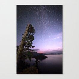Crater Lake Glow Canvas Print