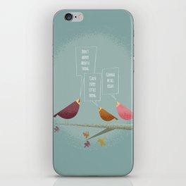 Three Little Birds iPhone Skin