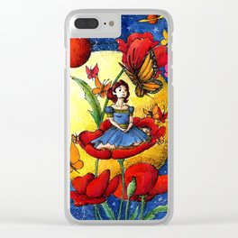 Thumbelina Clear iPhone Case