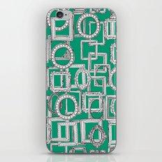 picture frames aplenty green iPhone & iPod Skin