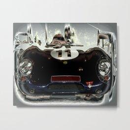 """1956 Lotus """"Eleven"""" Racing Car Metal Print"""