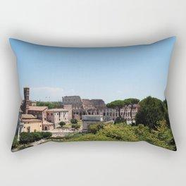 Colosseum From A Distance Rectangular Pillow