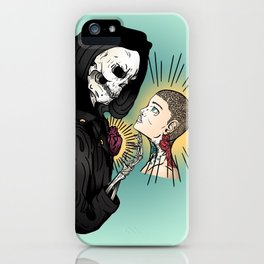 Even In Death iPhone Case