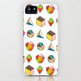 Platonic Solids iPhone Case