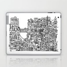 Busy City V Laptop & iPad Skin