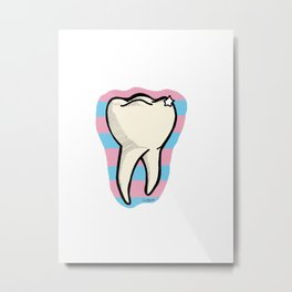 Tooth Metal Print