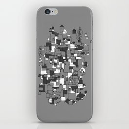 Floating Village iPhone Skin