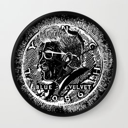 """Half Piece"" by Steven Fiche Wall Clock"